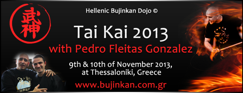 Hellenic Bujinkan Dojo Seminar TAI KAI Thessaloniki